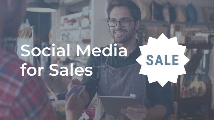 social media for sales